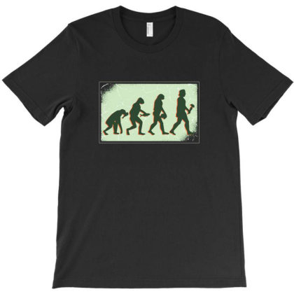 Vegan Evolution T-shirt Designed By Dirjaart