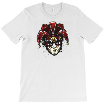 Venetian Mask T-shirt Designed By Dirjaart