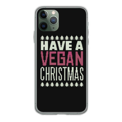 Vegan Christmas Iphone 11 Pro Case Designed By Dirjaart