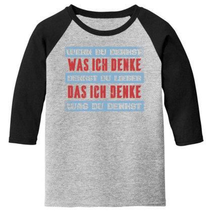 Vintage German Youth 3/4 Sleeve Designed By Dirjaart