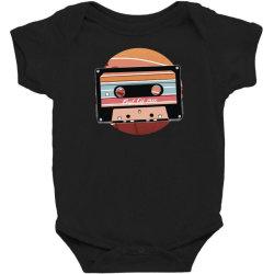 vintage cassette Baby Bodysuit | Artistshot