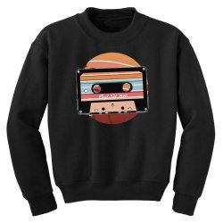 vintage cassette Youth Sweatshirt | Artistshot