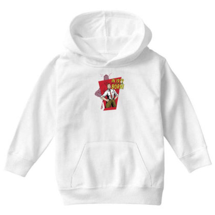 Vintage Father's Day Youth Hoodie Designed By Dirjaart