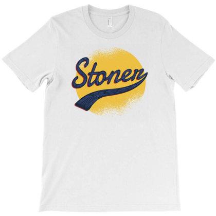 Vintage Stoner T-shirt Designed By Dirjaart