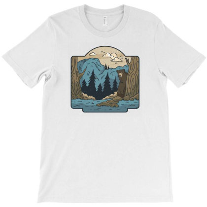 Wilderness T-shirt Designed By Dirjaart