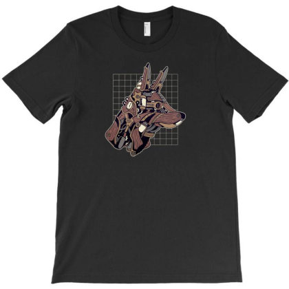 Wolf Steampunk T-shirt Designed By Dirjaart