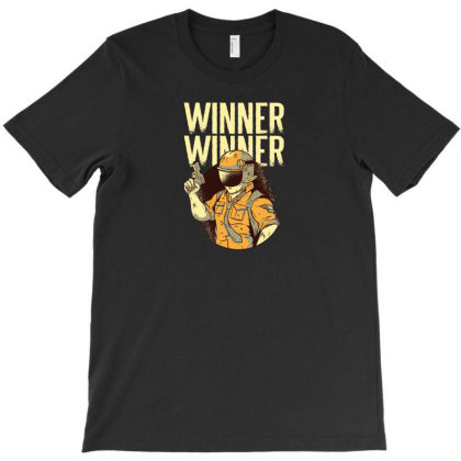 Winner Winner T-shirt Designed By Dirjaart