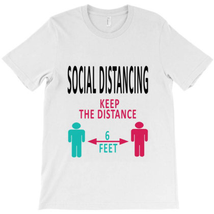 Social Distancing 2020 T-shirt Designed By Elegance99