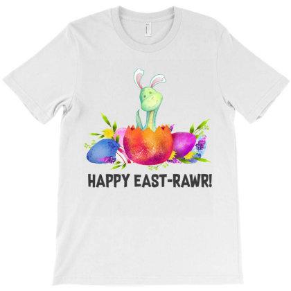 Dinosaur Easter Day T-shirt Designed By Hoainv