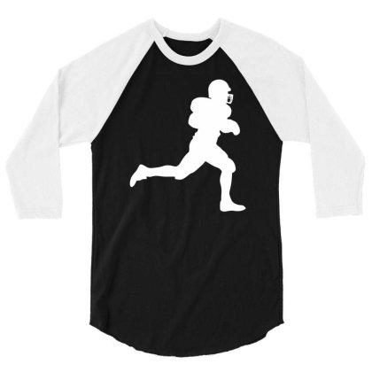 American Football Player 3/4 Sleeve Shirt Designed By Ramateeshirt
