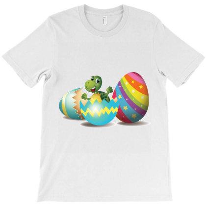 Turtle Easter Egg T-shirt Designed By Hoainv