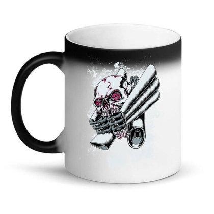 Illustration Vector Skull Drawing Magic Mug Designed By Salmanaz