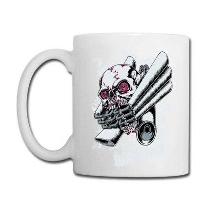 Illustration Vector Skull Drawing Coffee Mug Designed By Salmanaz