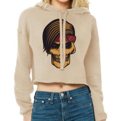 Skull Cropped Hoodie Designed By Estore