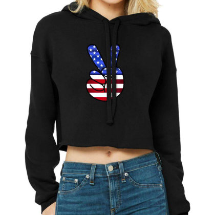 American Cropped Hoodie Designed By Estore