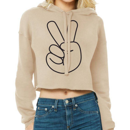 Hand Cropped Hoodie Designed By Estore