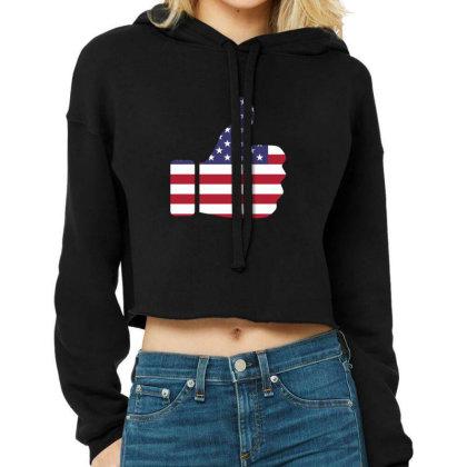 American Like Cropped Hoodie Designed By Estore