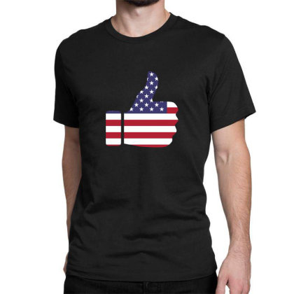 American Like Classic T-shirt Designed By Estore