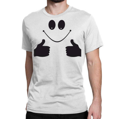 Smile Like Classic T-shirt Designed By Estore