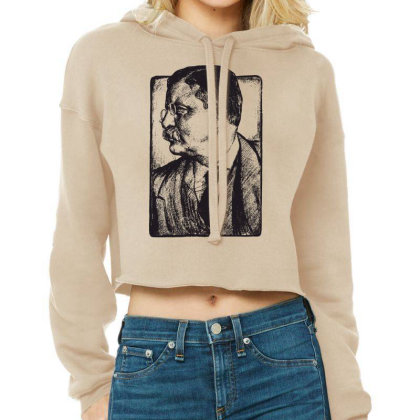 Picture Cropped Hoodie Designed By Estore