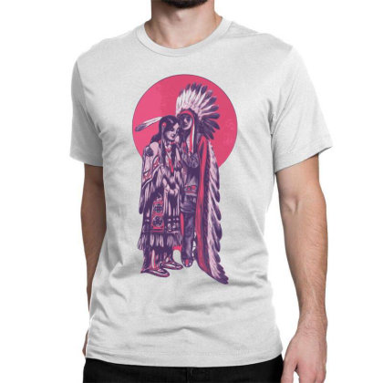 American Indian Classic T-shirt Designed By Estore