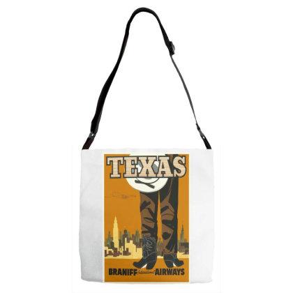 Texas Adjustable Strap Totes Designed By Estore