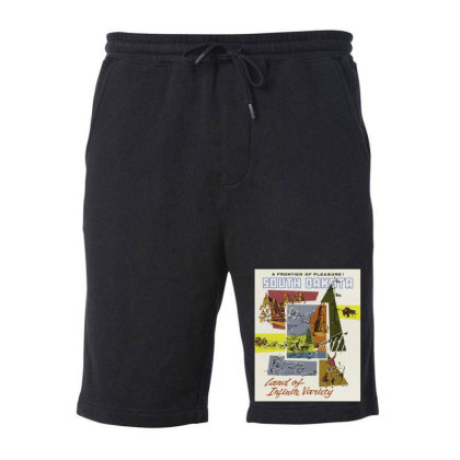 South Dakota Fleece Short Designed By Estore