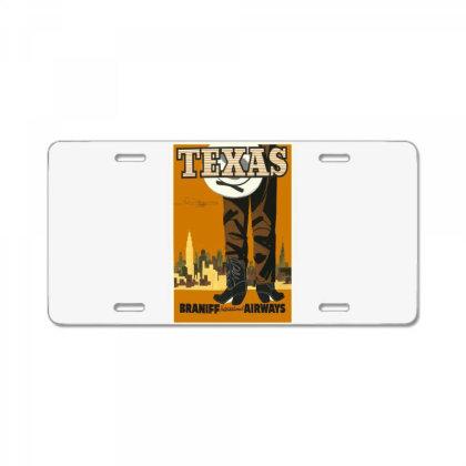 Texas License Plate Designed By Estore
