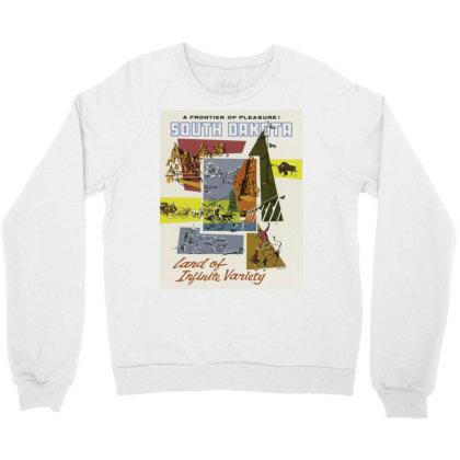 South Dakota Crewneck Sweatshirt Designed By Estore