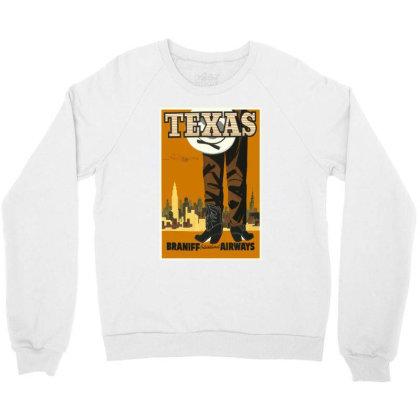 Texas Crewneck Sweatshirt Designed By Estore