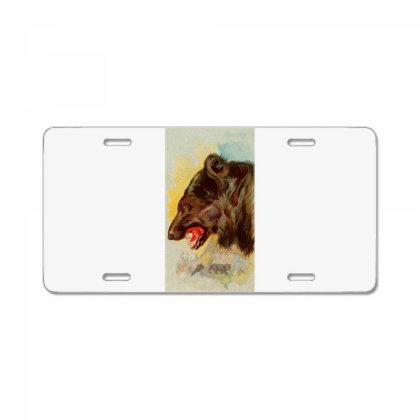 Bear Picture License Plate Designed By Estore