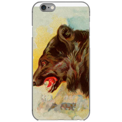 Bear Picture Iphone 6/6s Case Designed By Estore