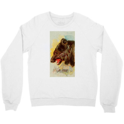 Bear Picture Crewneck Sweatshirt Designed By Estore