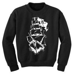 Ship Youth Sweatshirt   Artistshot