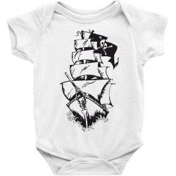 Ship Baby Bodysuit | Artistshot