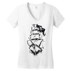 Ship Women's V-Neck T-Shirt | Artistshot