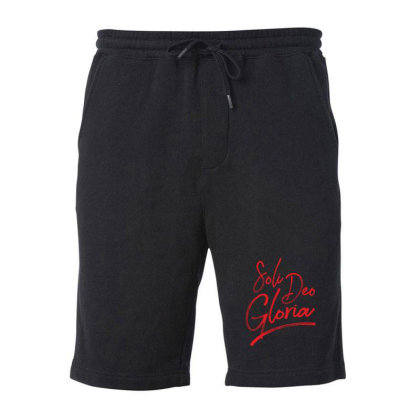 Soli Deo Gloria Fleece Short Designed By Estore