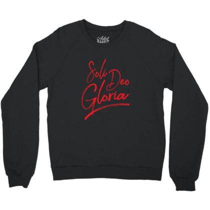 Soli Deo Gloria Crewneck Sweatshirt Designed By Estore