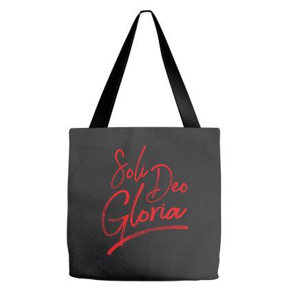 Soli Deo Gloria Tote Bags Designed By Estore