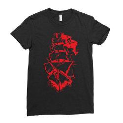 Ship Ladies Fitted T-Shirt | Artistshot