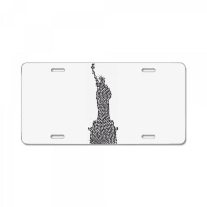 Statue Of Freedom License Plate Designed By Estore