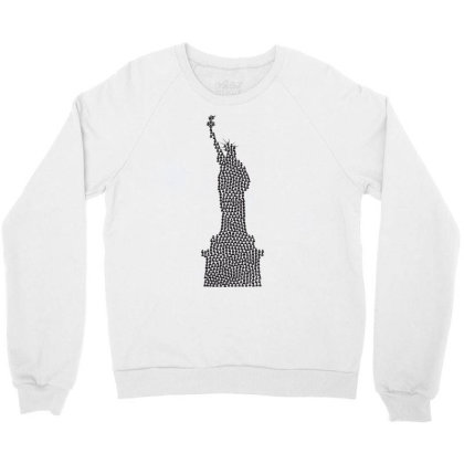 Statue Of Freedom Crewneck Sweatshirt Designed By Estore