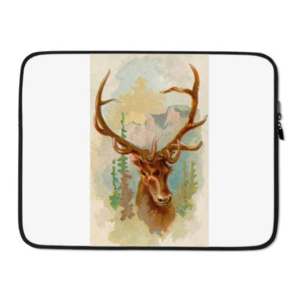 Deer Picture Laptop Sleeve Designed By Estore