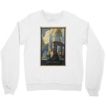 Chicago Crewneck Sweatshirt Designed By Estore