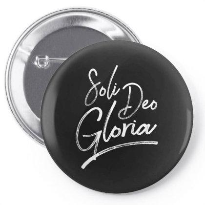 Soli Deo Gloria Pin-back Button Designed By Estore