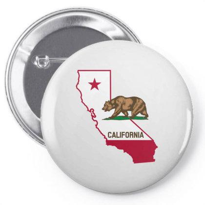 California Pin-back Button Designed By Estore