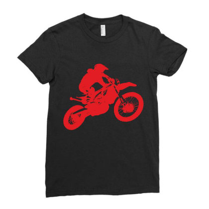 Motorcycle Ladies Fitted T-shirt Designed By Estore