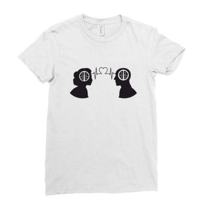 Love Ladies Fitted T-shirt Designed By Estore