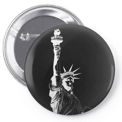 Statue Of Freedom Pin-back Button Designed By Estore