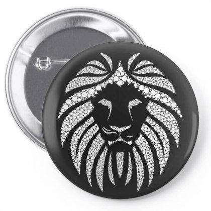 Lion Pin-back Button Designed By Estore